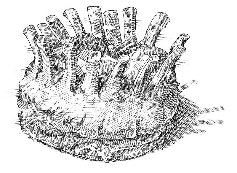 ilo_porkcuts_crownroastofpork?w=558 pork cuts a visual guide the cook's illustrated meat book